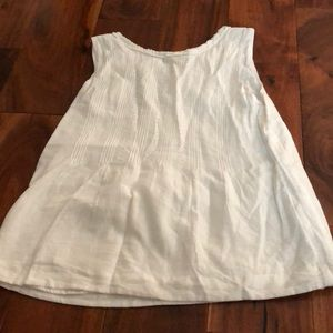 Burberry white tank top